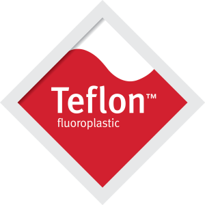Red Teflon fluoroplastic Diamond 186